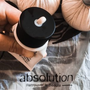 soins chouchous masque repulpant Absolution Cosmetics